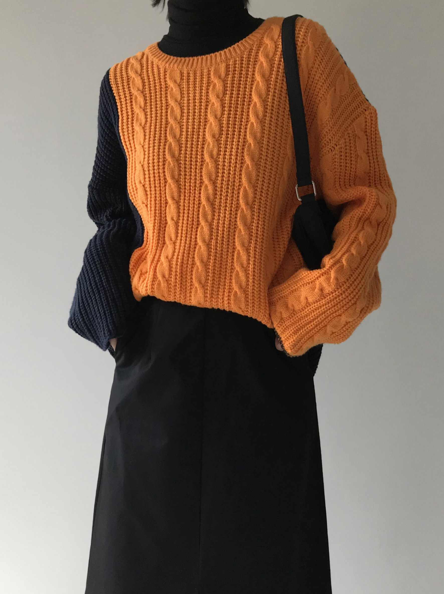 JUDY CABLE KNIT (4color!)