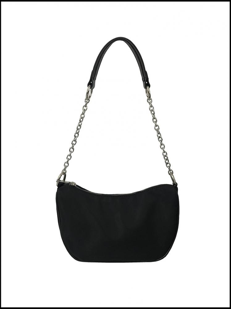 CHAIN SHOULDER BAG ! (black)