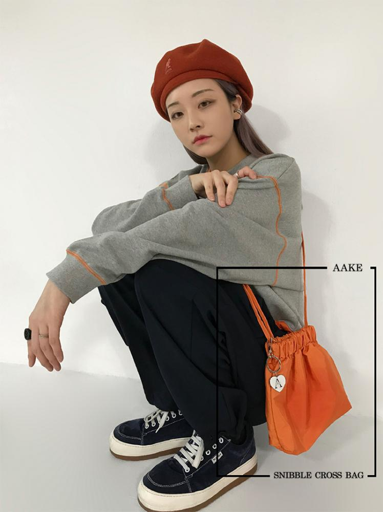 SNIBBLE CROSS BAG (orange!)