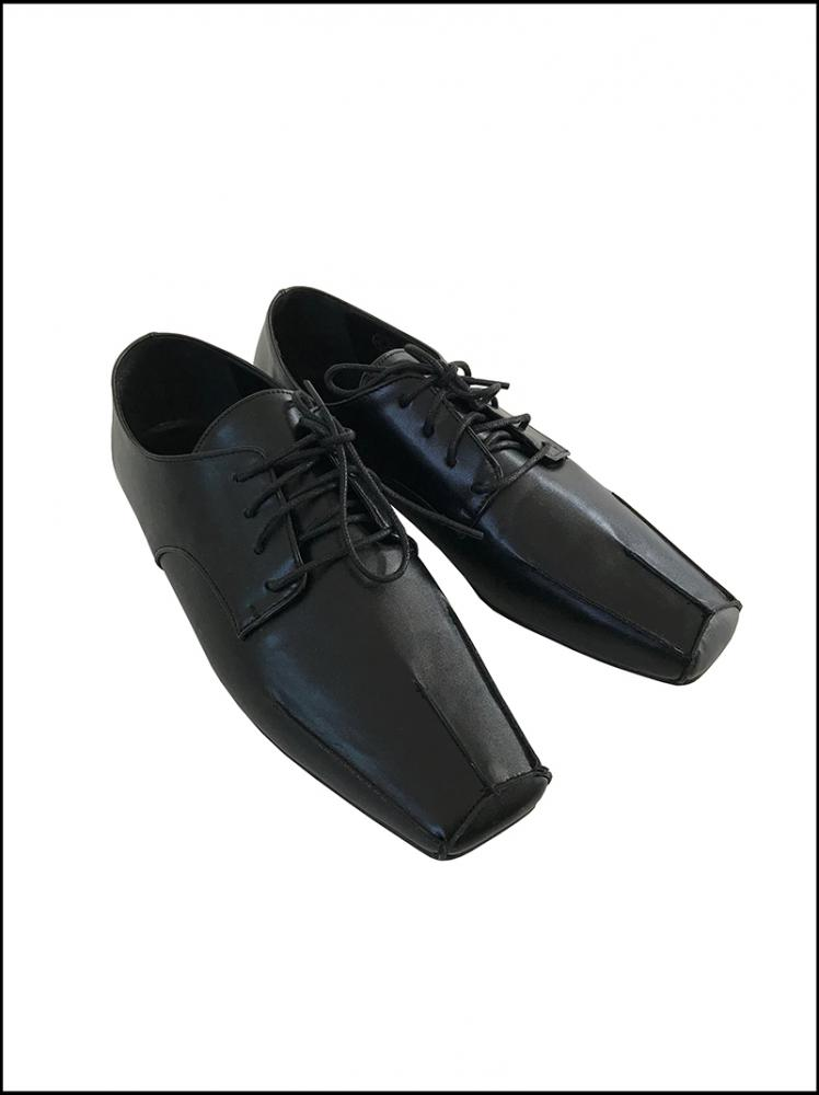 POINT SQUARE LOAFER (black!)