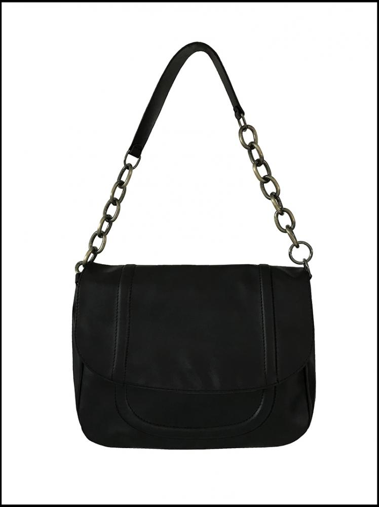 CHAIN BIG BAG (black!)